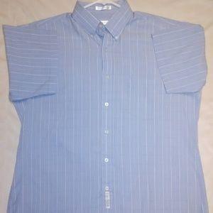 Geoffrey Beene Short sleeve Button-up Shirt